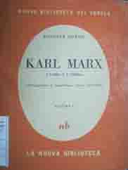 KARL MARX vol. I